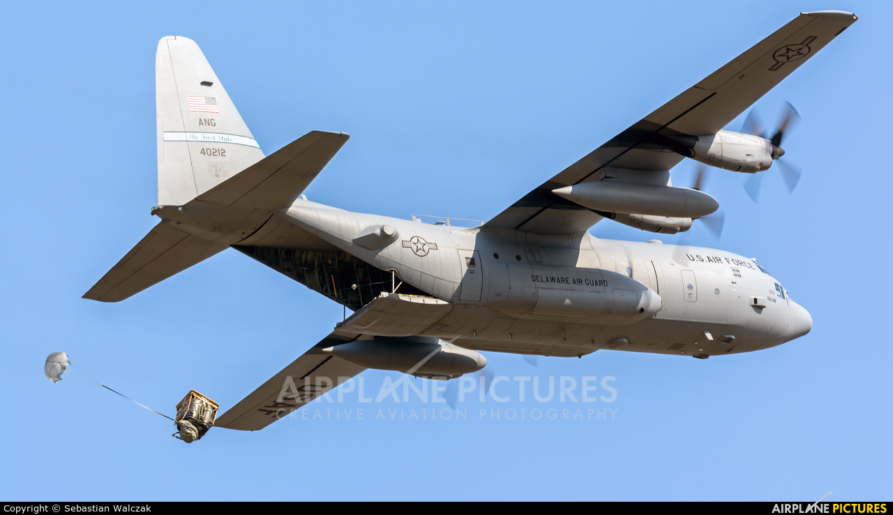USA - Air National Guard 84-0212 aircraft at Powidz