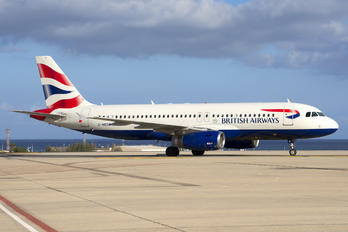 G-MEDK - British Airways Airbus A320