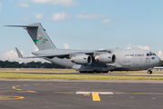 USAF C-17 takes military equipment from Sydney title=