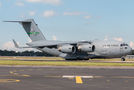 USAF C-17 takes military equipment from Sydney