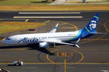 N596AS - Alaska Airlines Boeing 737-800