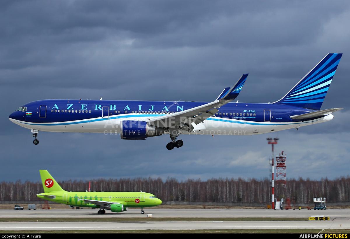 Azerbaijan Airlines 4K-AZ82 aircraft at Moscow - Domodedovo