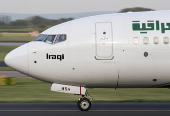 YI-ASH - Iraqi Airways Boeing 737-800