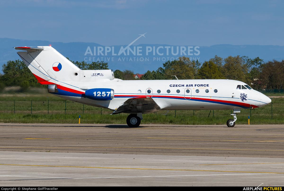 Czech - Air Force 1257 aircraft at Strasbourg-Entzheim
