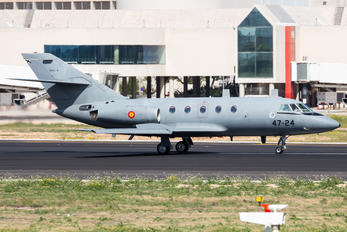 TM.11-4 / 47-24 - Spain - Air Force Dassault Falcon 20E Mystère