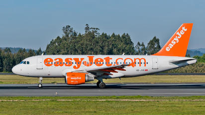 HB-JYG - easyJet Switzerland Airbus A319