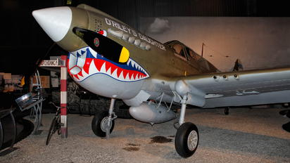 - - Museum of Flight Foundation Curtiss P-40B Warhawk