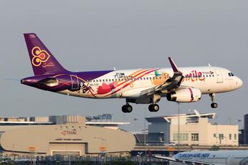 HS-TXQ - Thai Smile Airbus A320