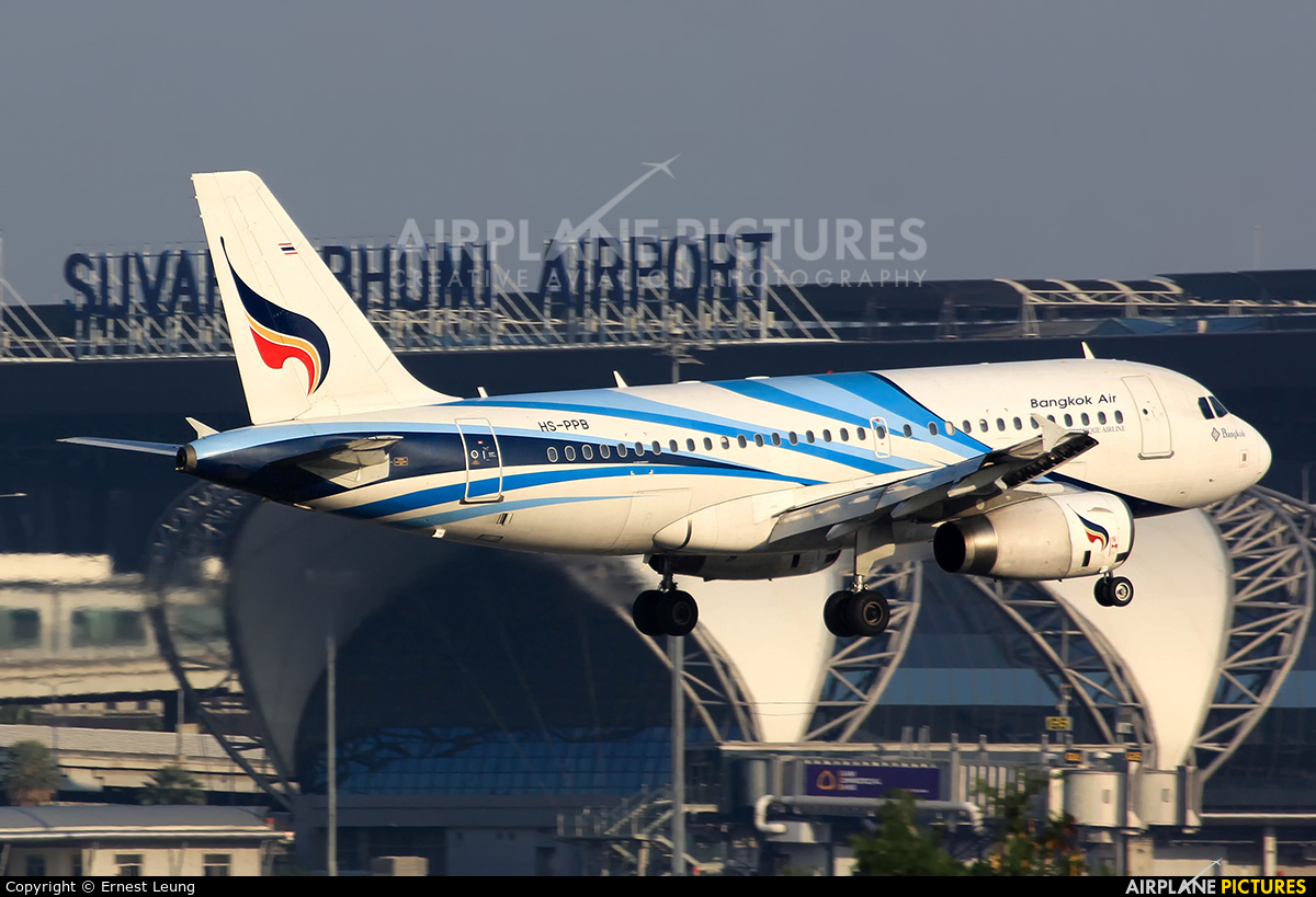 Bangkok Airways HS-PPB aircraft at Bangkok - Suvarnabhumi