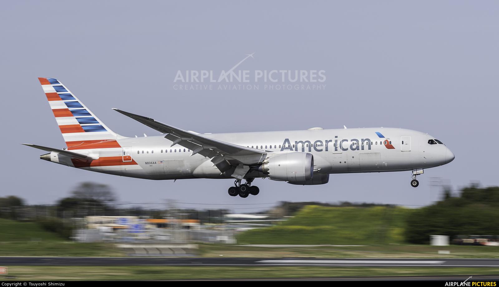 American Airlines N806AA aircraft at Tokyo - Narita Intl