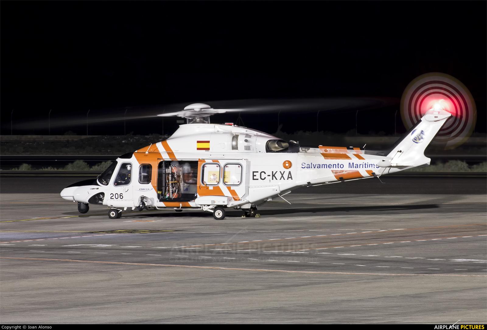 Salvamento Marítimo EC-KXA aircraft at Tenerife Sur - Reina Sofia