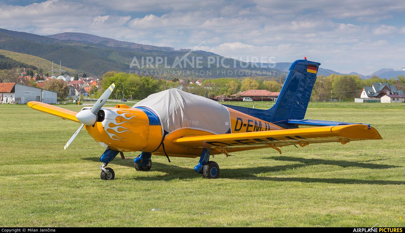 Private D-EMJI aircraft at Prievidza