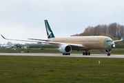 F-WZGF - Cathay Pacific Airbus A350-900 aircraft