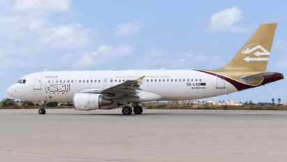 5A-LAQ - Libyan Airlines Airbus A320