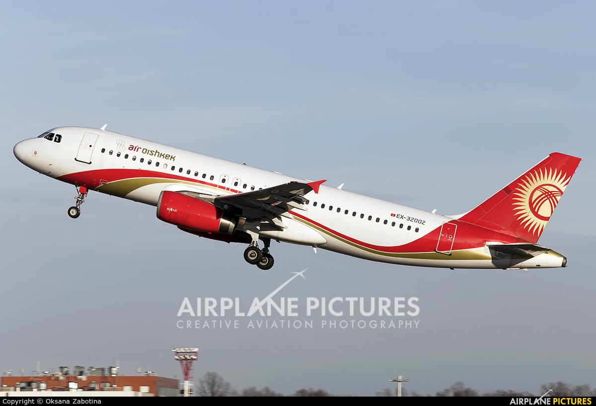 Air Bishkek EX-32002 aircraft at Moscow - Domodedovo