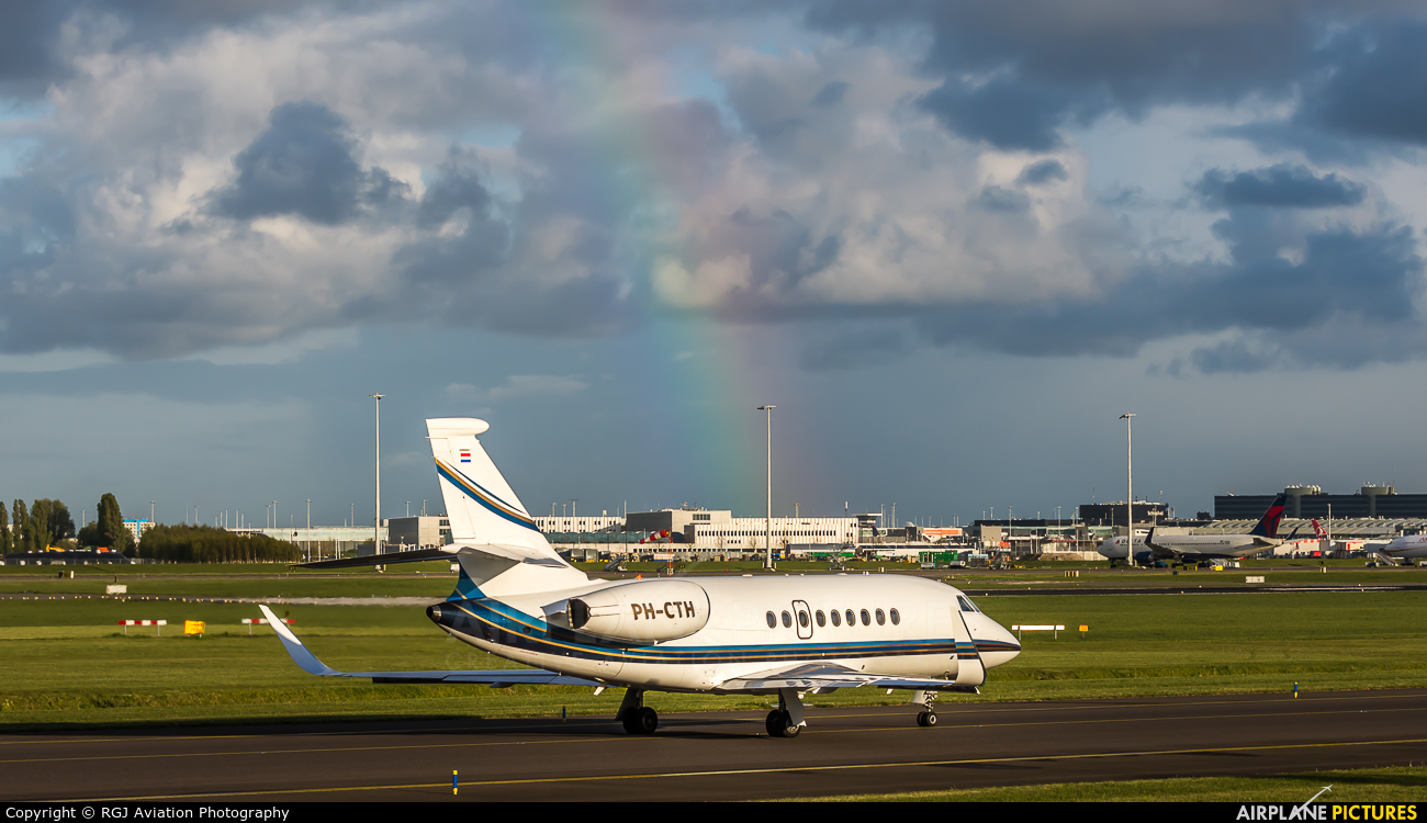 Flying Service PH-CTH aircraft at Amsterdam - Schiphol