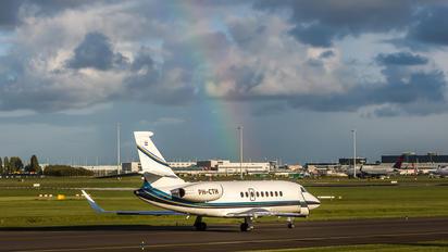 PH-CTH - Flying Service Dassault Falcon 2000 DX, EX