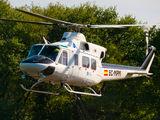 EC-MPM - Babcock Support services Bell 412SP aircraft