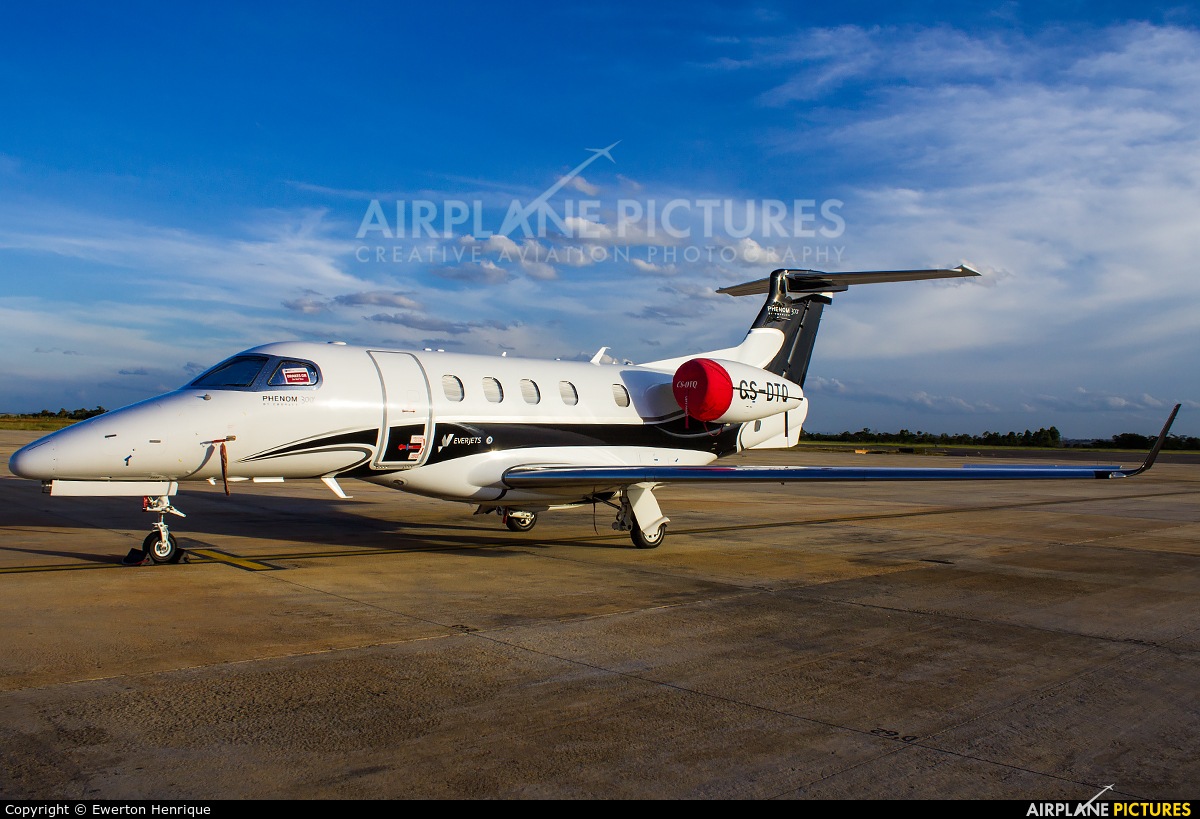 Everjets CS-DTQ aircraft at Belo Horizonte - Tancredo Neves