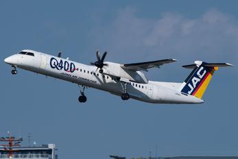 JA842C - JAL-  Japan Air Commuter de Havilland Canada DHC-8-400Q / Bombardier Q400