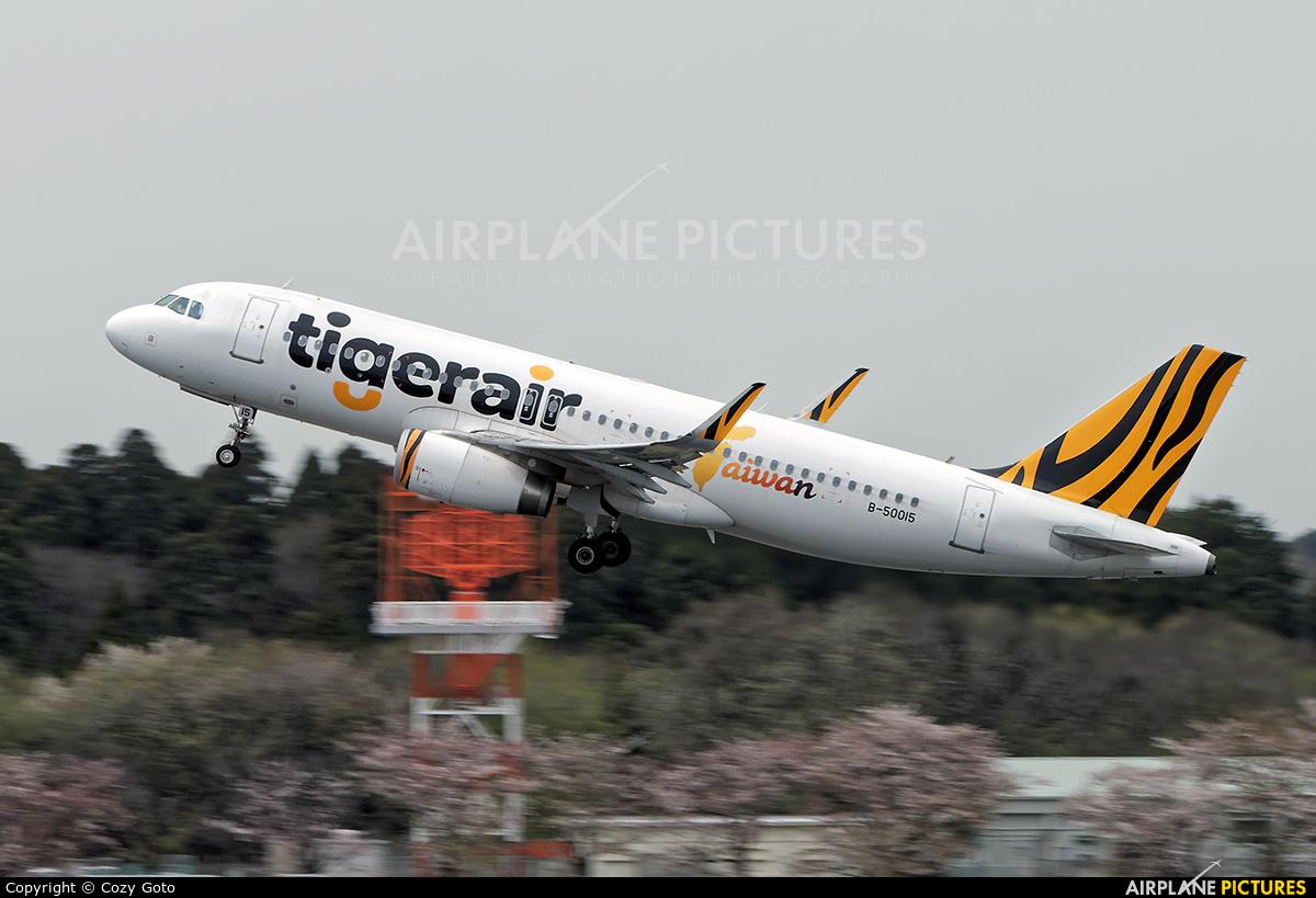 Tigerair Taiwan B-50015 aircraft at Tokyo - Narita Intl