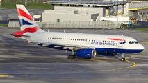 G-EUPC - British Airways Airbus A319 aircraft