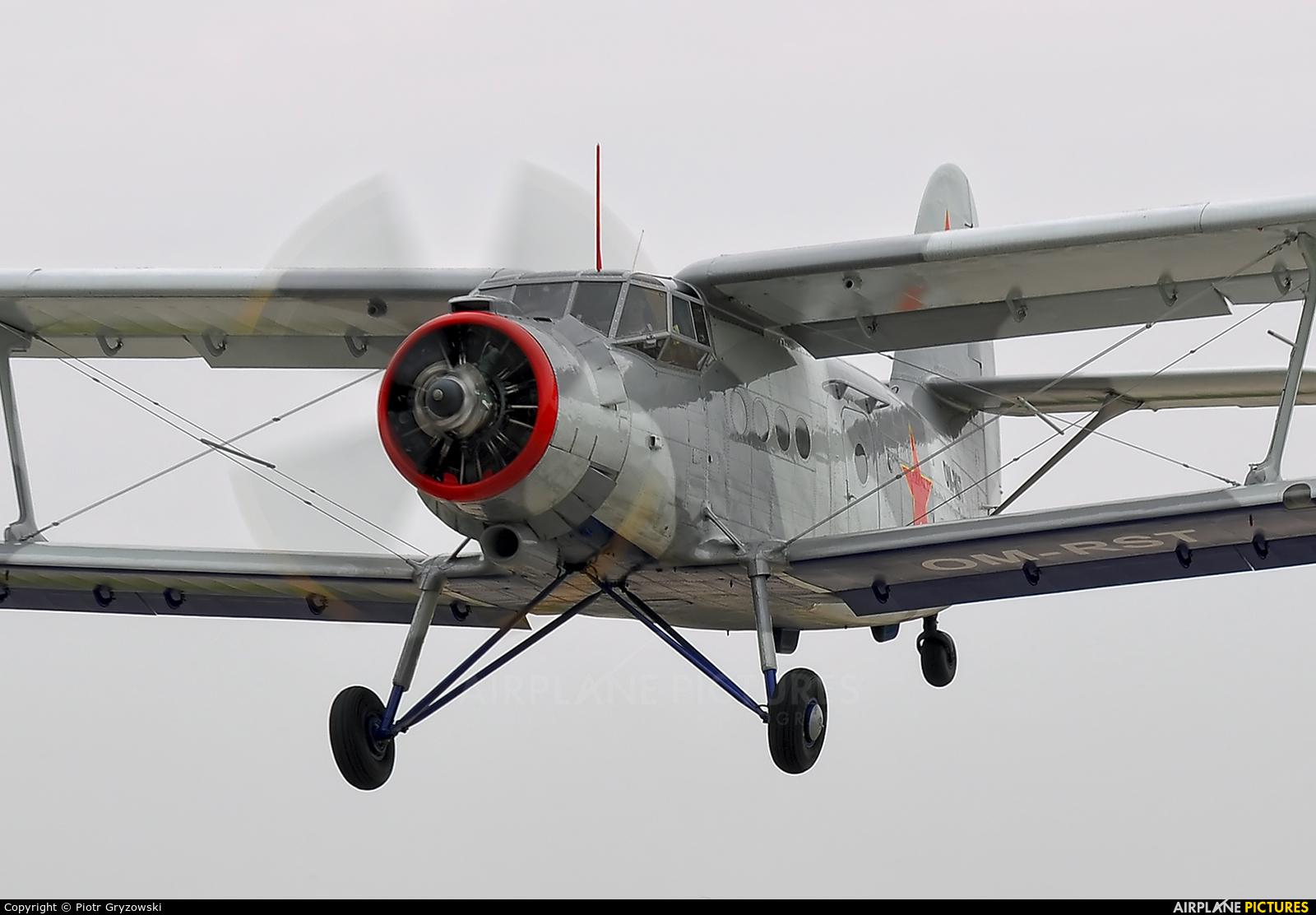 Private OM-RST aircraft at Kraków, Rakowice Czyżyny - Museum of Polish Aviation