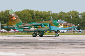 34 - Belarus - Air Force Sukhoi Su-25