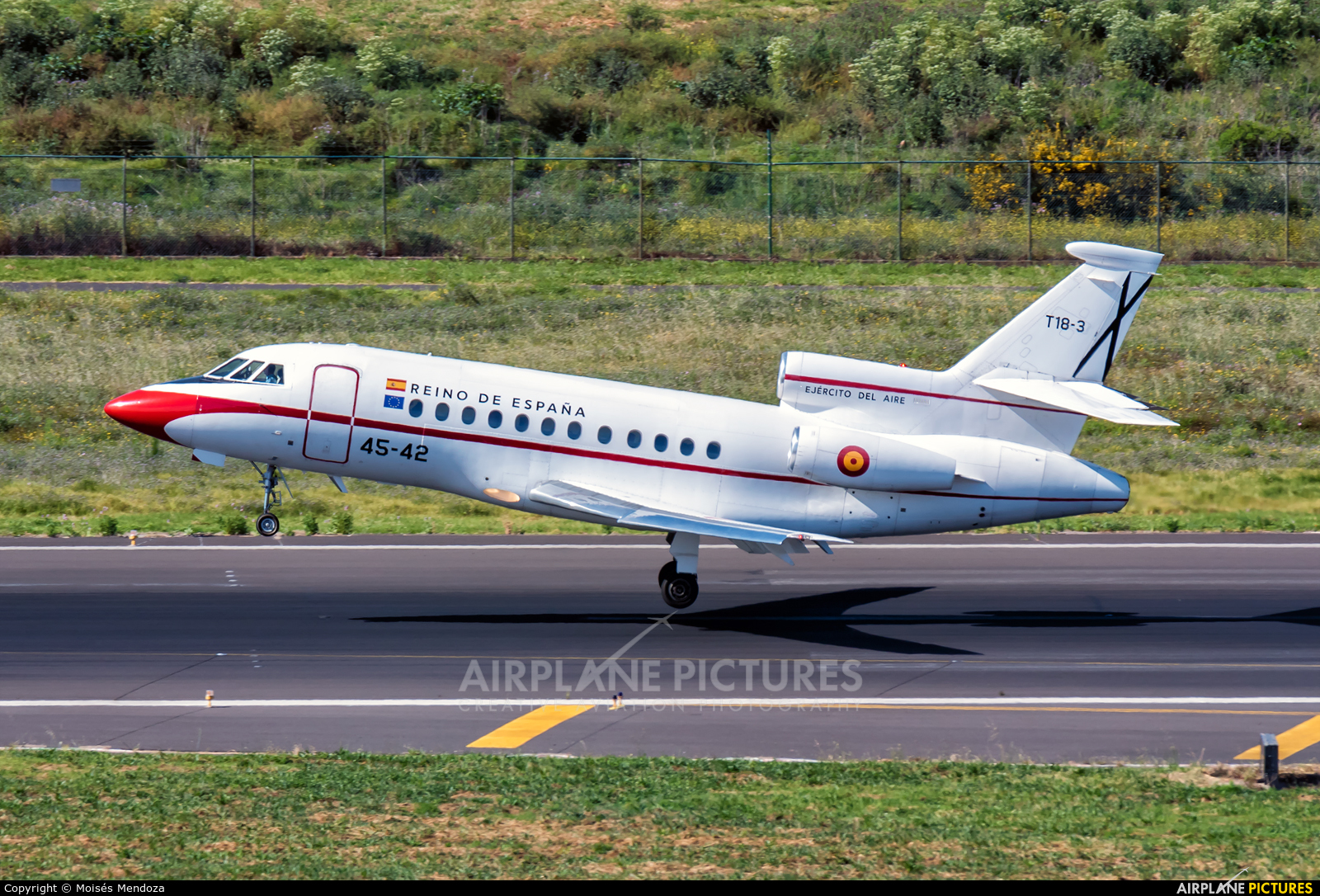 Spain - Air Force T.18-3 aircraft at Tenerife Norte - Los Rodeos