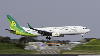 JA04GR - Spring Airlines Japan Boeing 737-800