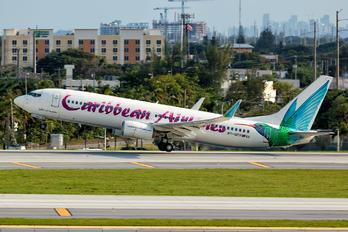 9Y-GEO - Caribbean Airlines  Boeing 737-800