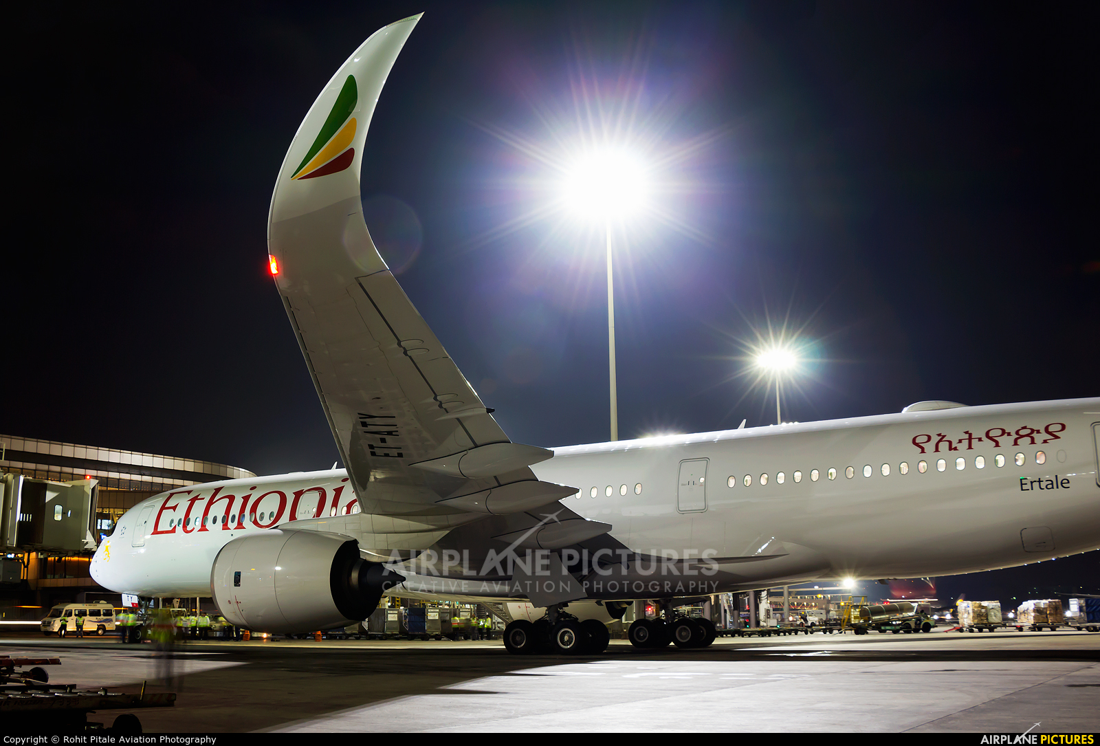 Ethiopian Airlines ET-ATY aircraft at Mumbai - Chhatrapati Shivaji Intl