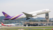 HS-TKV - Thai Airways Boeing 777-300ER aircraft