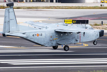 TM.12D-72 / 47-12 - Spain - Air Force Casa C-212 Aviocar