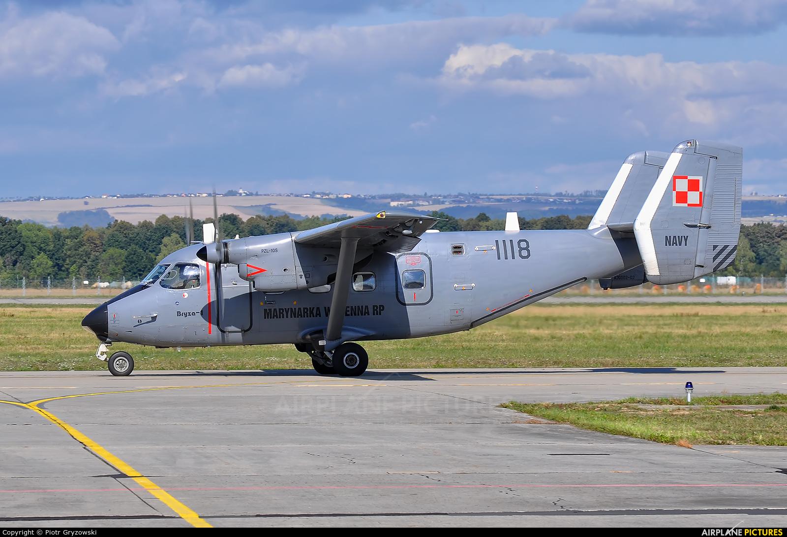 Poland - Navy 1118 aircraft at Ostrava Mošnov