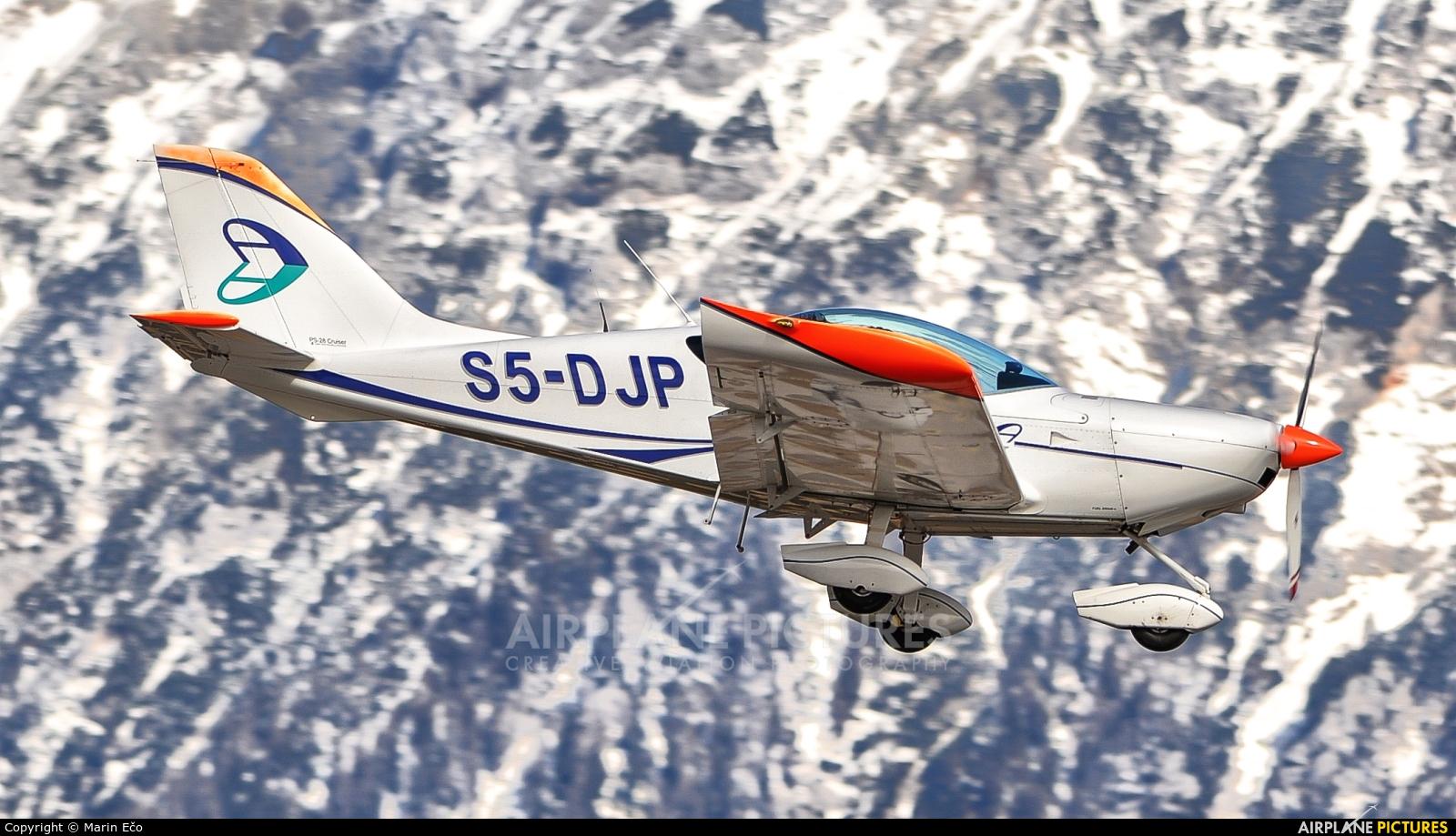 Adria Airways S5-DJP aircraft at Ljubljana - Brnik