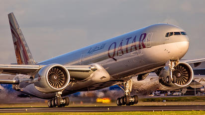A7-BAP - Qatar Airways Boeing 777-300ER