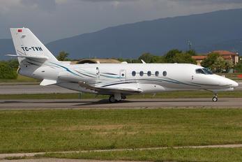 TC-TVH - Private Cessna 680A Latitude