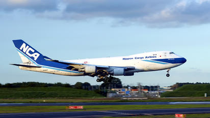 JA05KZ - Nippon Cargo Airlines Boeing 747-400F, ERF