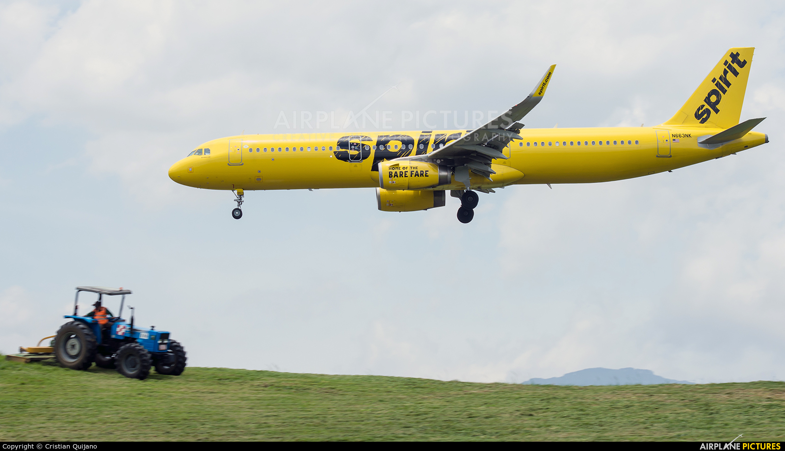 Spirit Airlines N663NK aircraft at San Jose - Juan Santamaría Intl