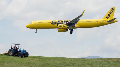 N663NK - Spirit Airlines Airbus A321