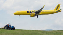 N663NK - Spirit Airlines Airbus A321 aircraft