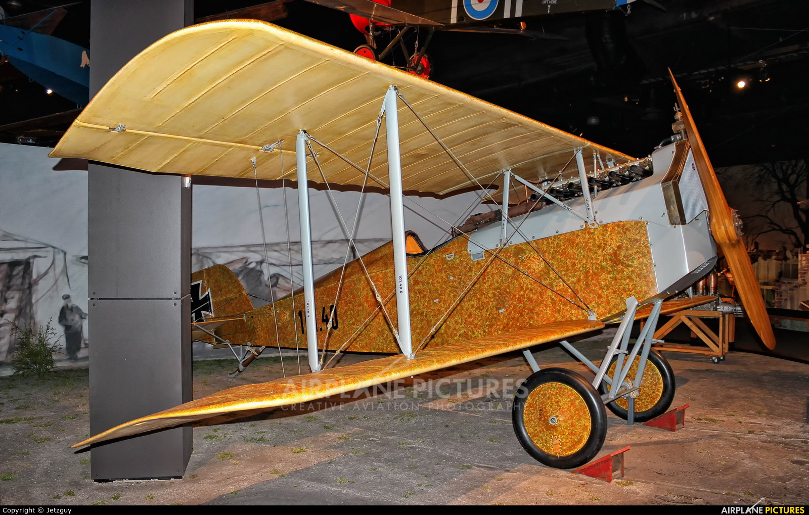 Museum of Flight Foundation 104-40 aircraft at Seattle - Boeing Field / King County Intl