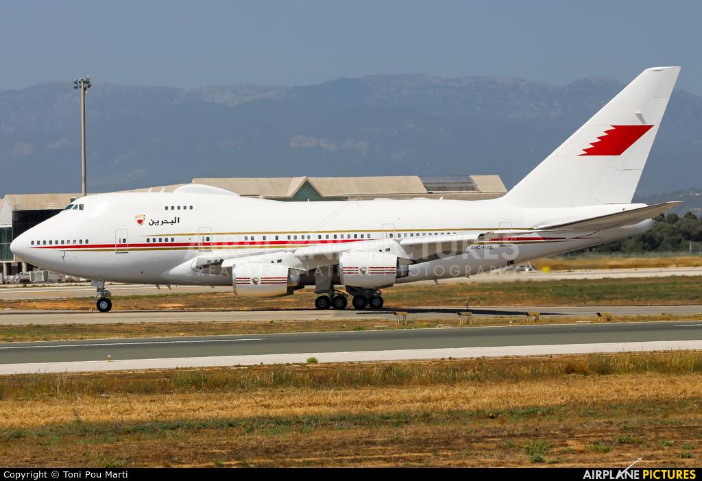 Bahrain Amiri Flight A9C-HAK aircraft at Palma de Mallorca