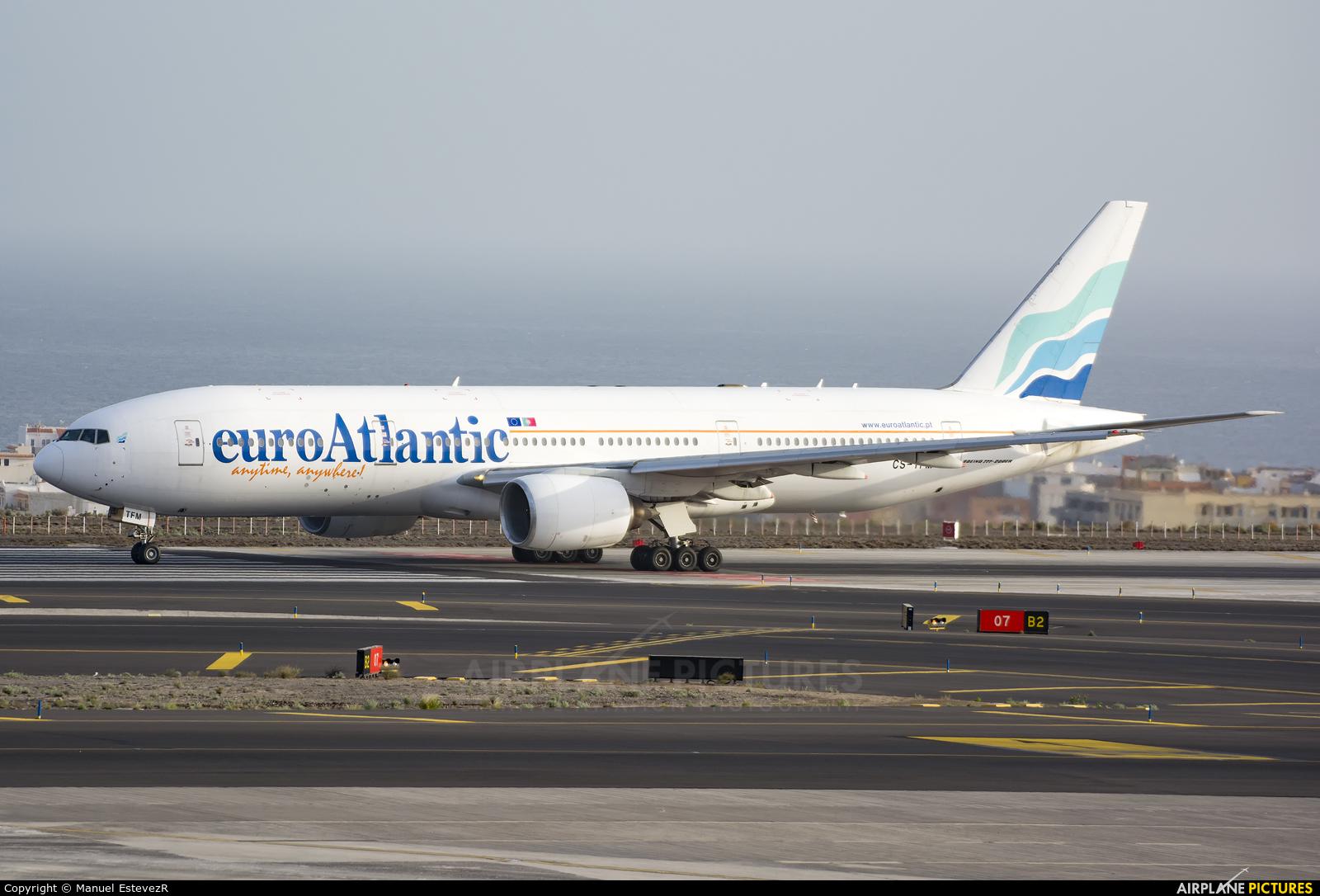 Euro Atlantic Airways CS-TFM aircraft at Tenerife Sur - Reina Sofia
