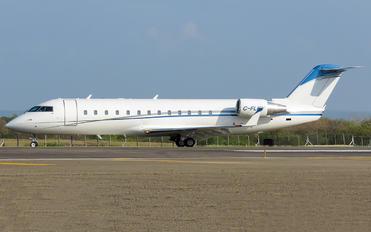 C-FLKY - Private Canadair CL-600 CRJ-200