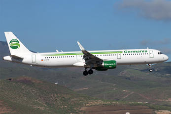 D-ASTE - Germania Airbus A321