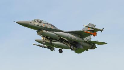 FB-24 - Belgium - Air Force General Dynamics F-16BM Fighting Falcon