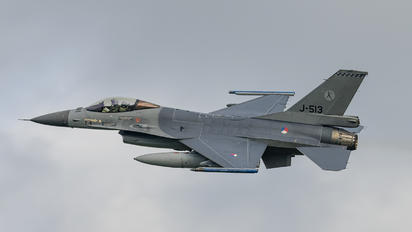 J-513 - Netherlands - Air Force General Dynamics F-16A Fighting Falcon