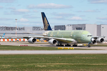 F-WWAQ - Singapore Airlines Airbus A380